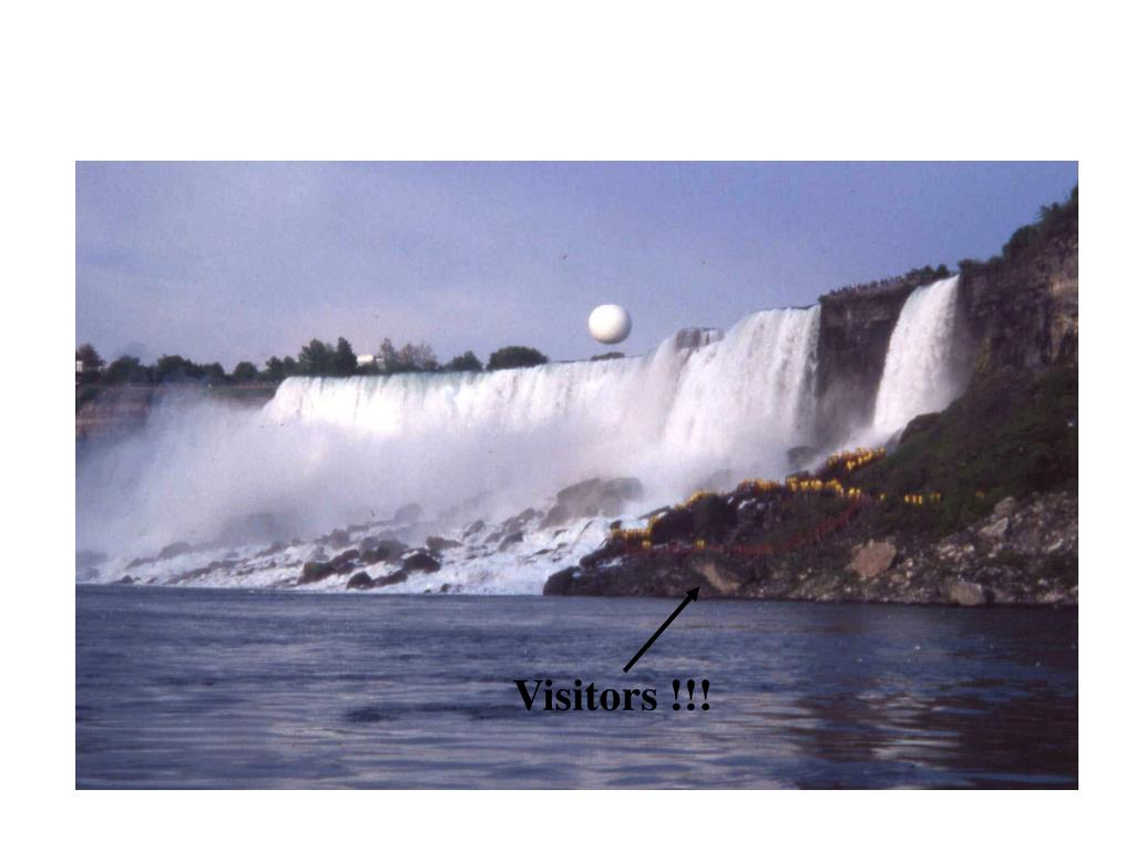 20 million visit the falls every year