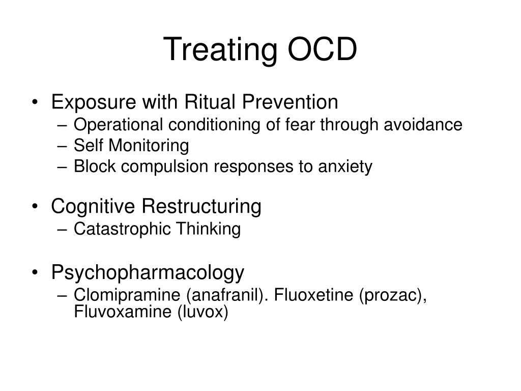 Treating OCD