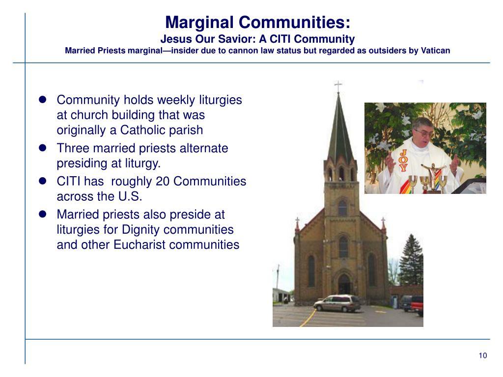 Marginal Communities: