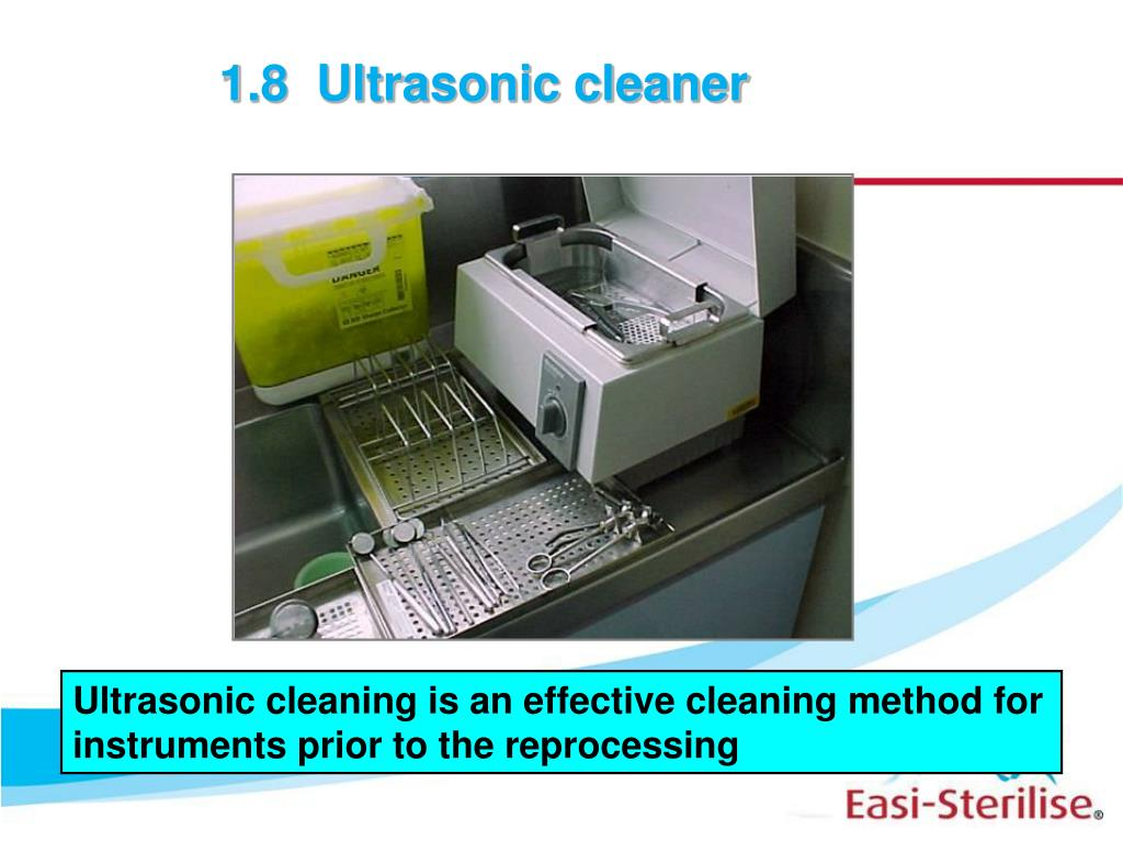 1.8  Ultrasonic cleaner