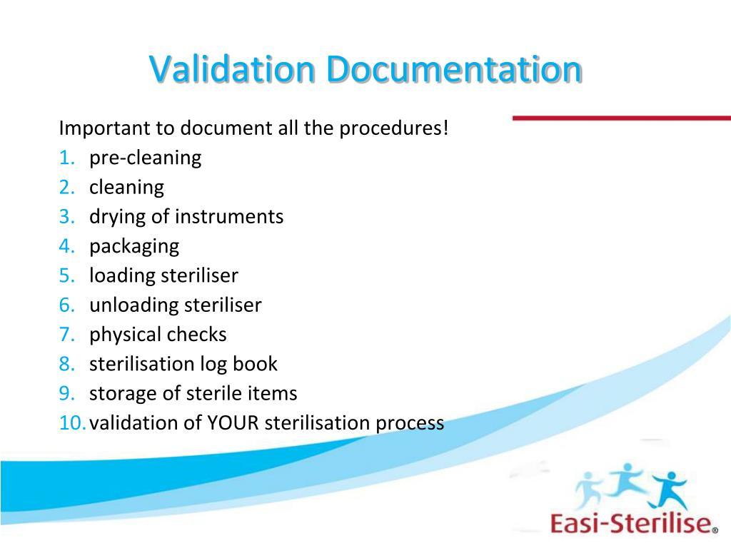 Validation Documentation