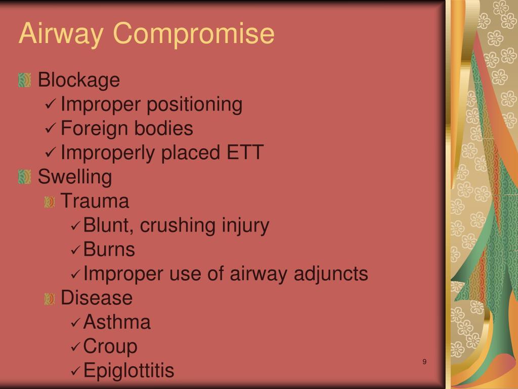 Airway Compromise