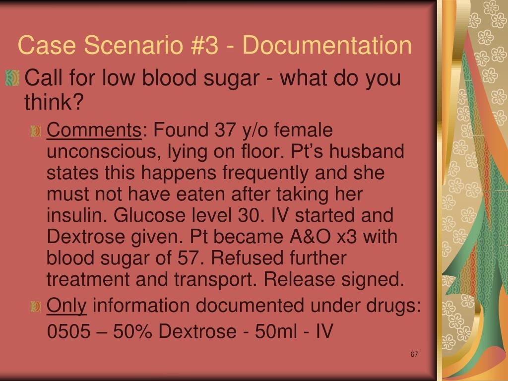 Case Scenario #3 - Documentation