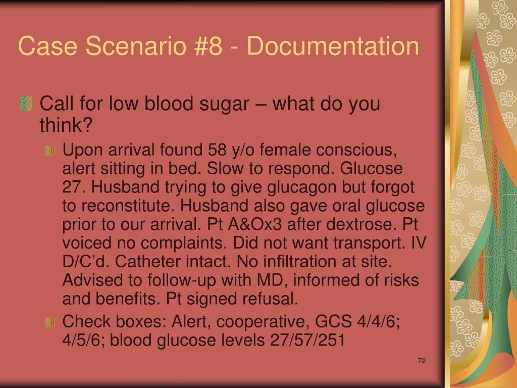 Case Scenario #8 - Documentation