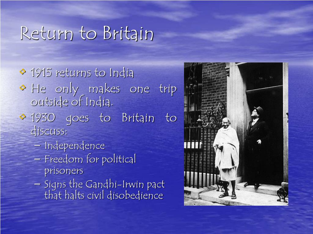 Return to Britain