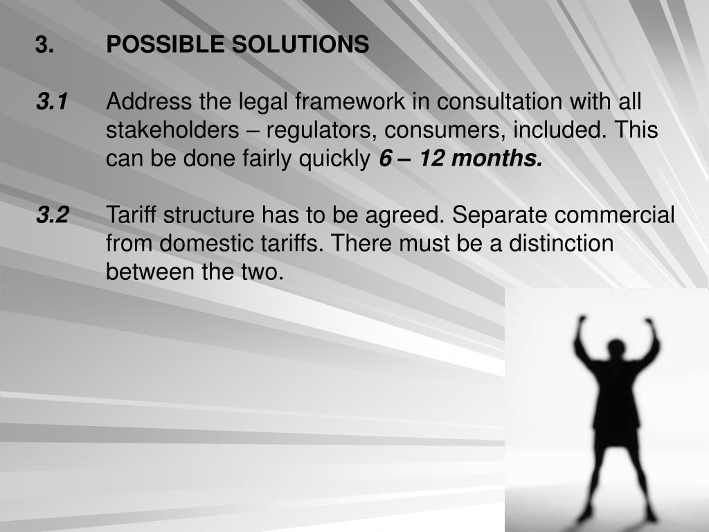 3.POSSIBLE SOLUTIONS