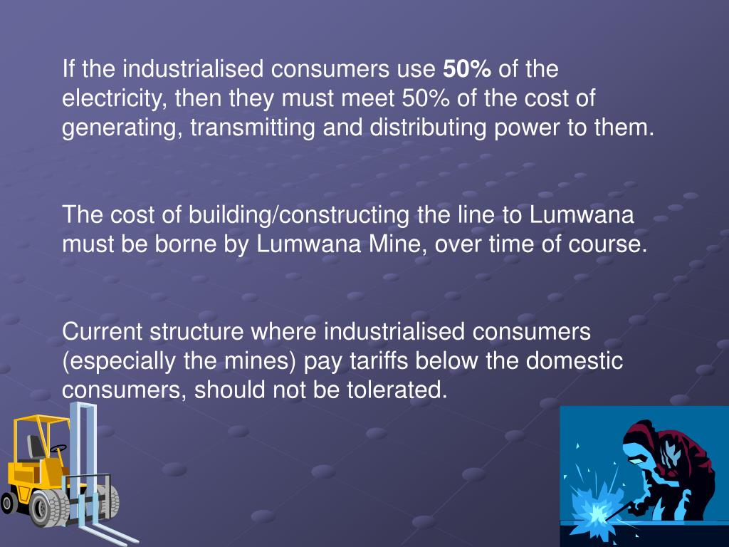 If the industrialised consumers use
