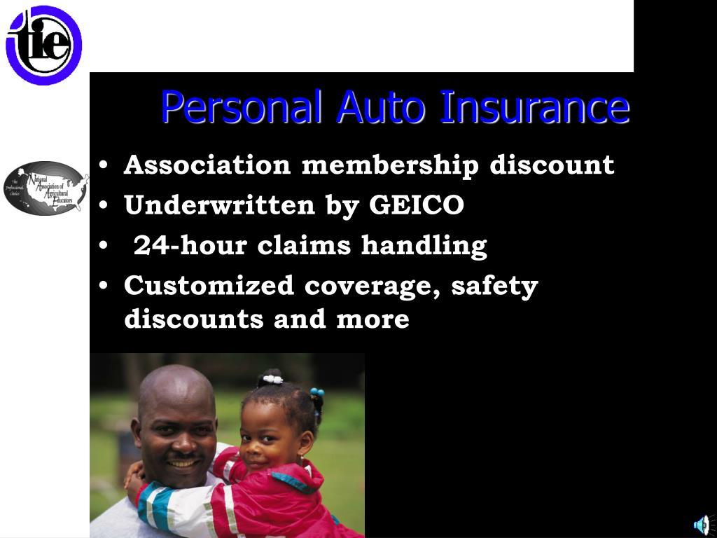 Personal Auto Insurance