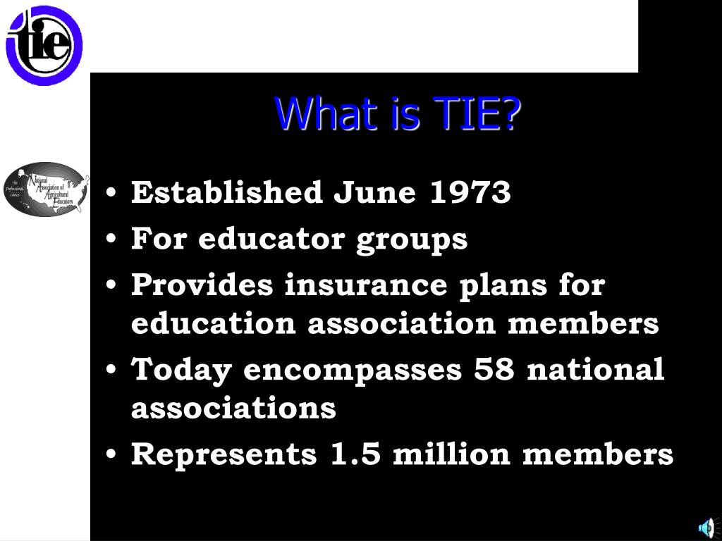 What is TIE?