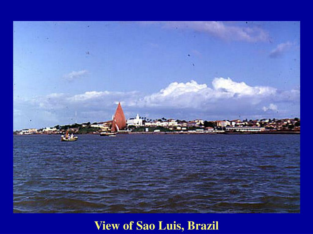 View of Sao Luis, Brazil