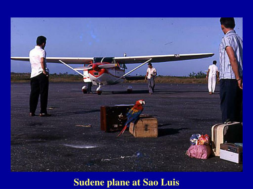 Sudene plane at Sao Luis