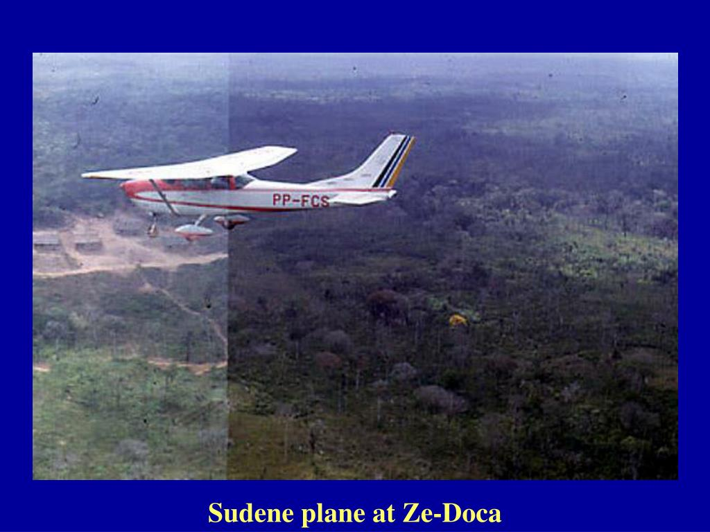 Sudene plane at Ze-Doca
