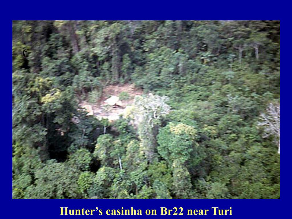 Hunter's casinha on Br22 near Turi