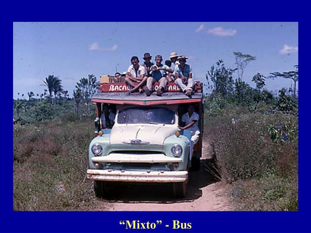 """Mixto"" - Bus"