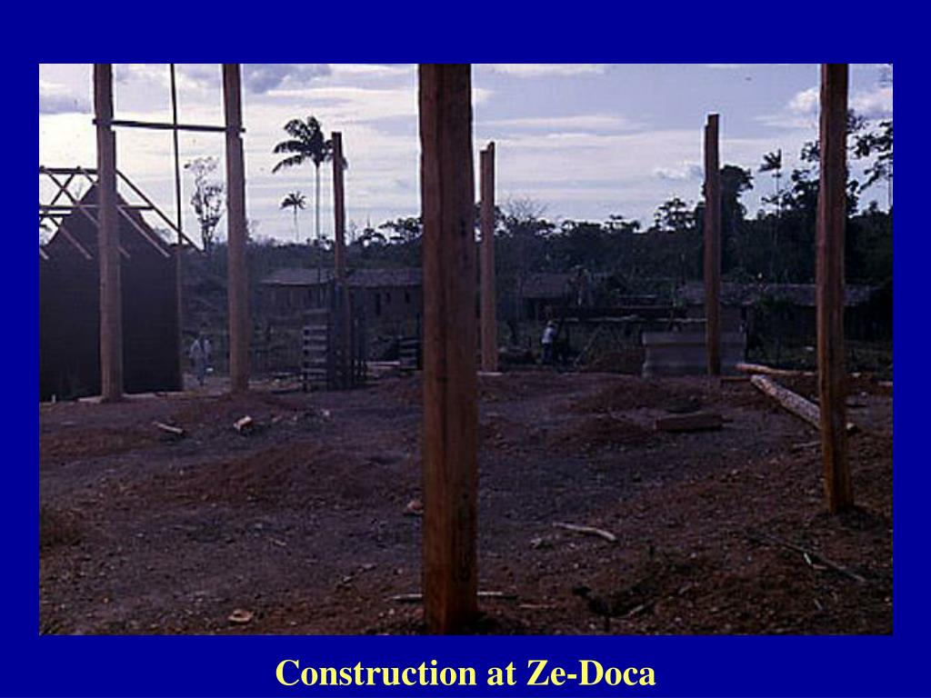 Construction at Ze-Doca