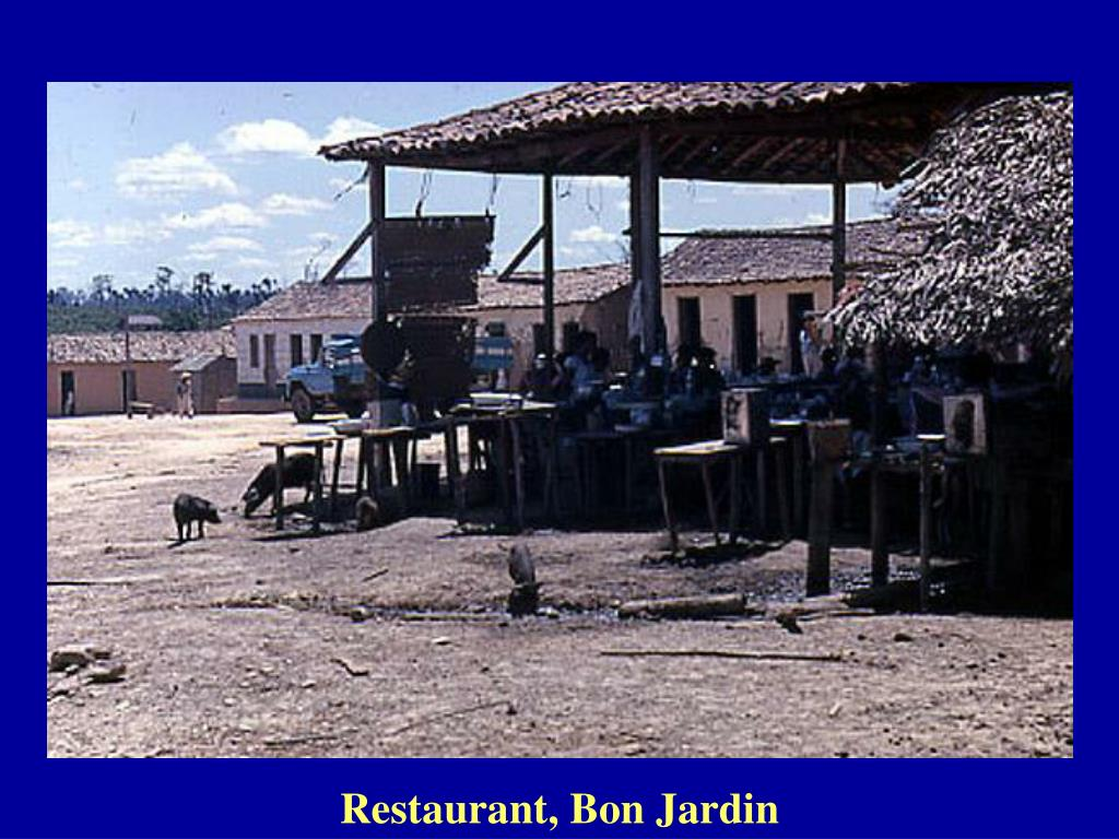 Restaurant, Bon Jardin