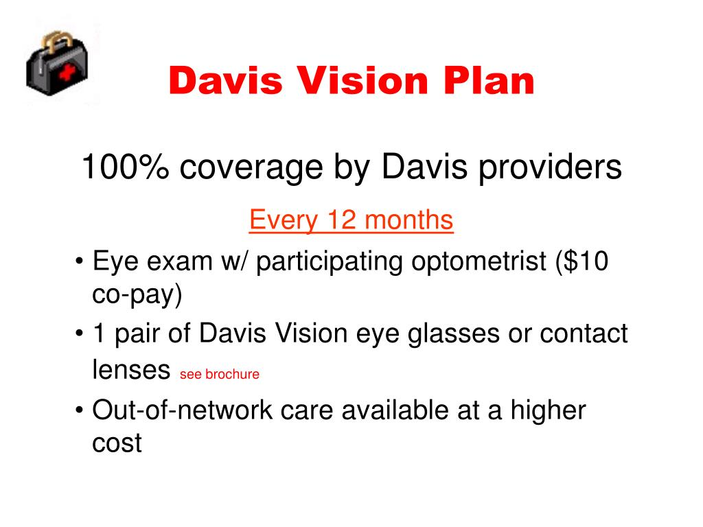Davis Vision Plan