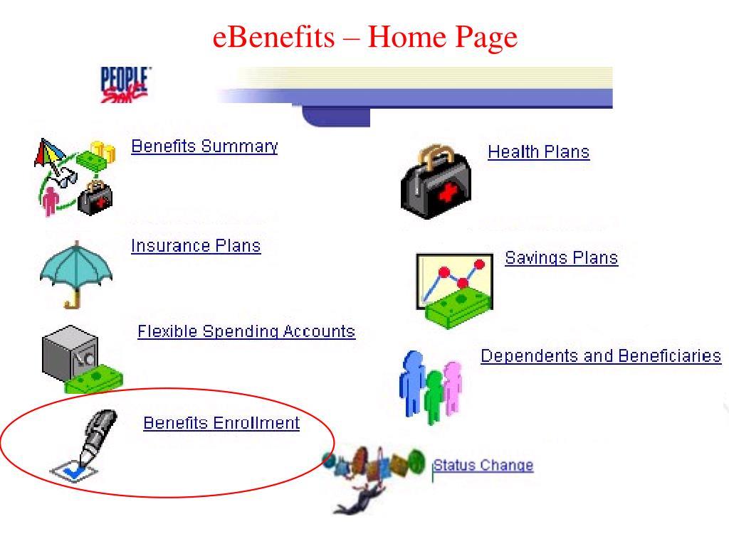 eBenefits – Home Page