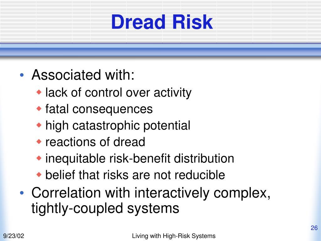 Dread Risk