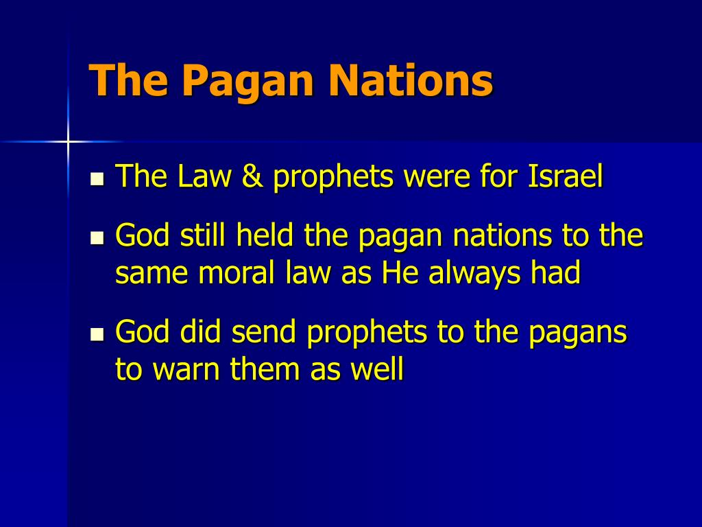 The Pagan Nations