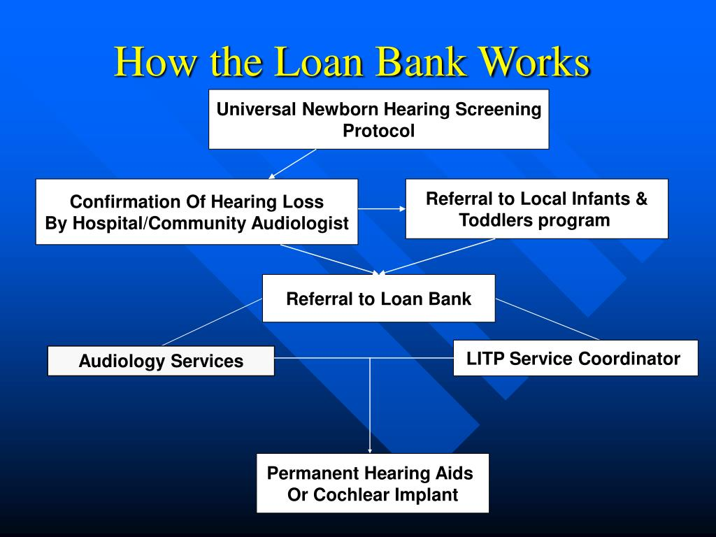 How the Loan Bank Works