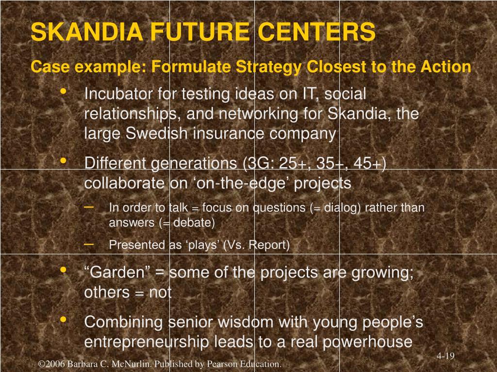 SKANDIA FUTURE CENTERS