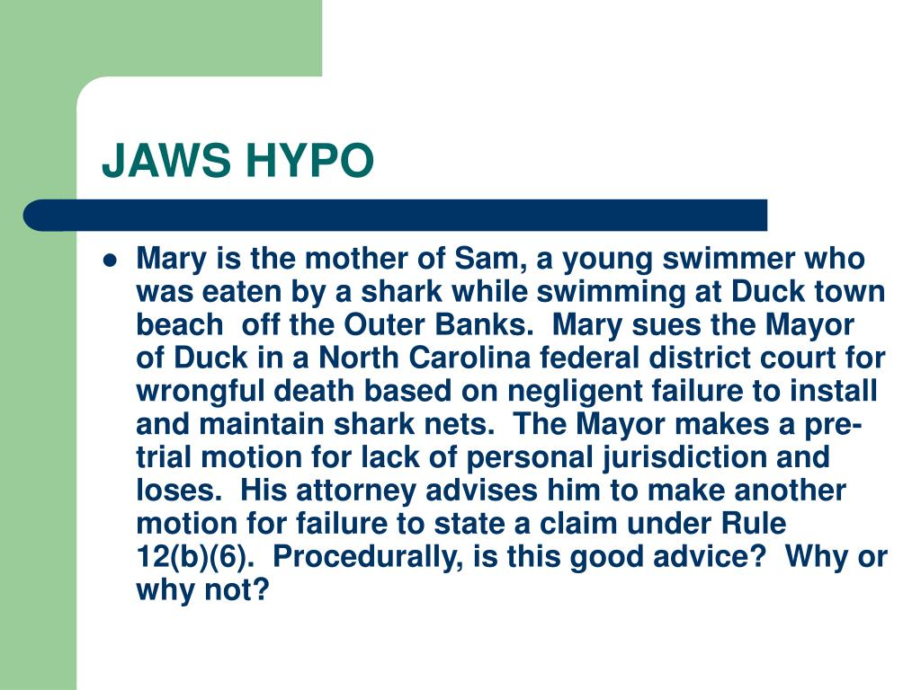 JAWS HYPO