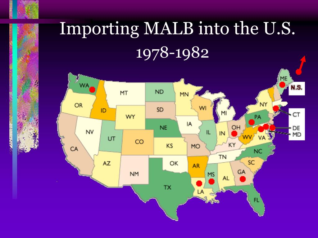 Importing MALB into the U.S.