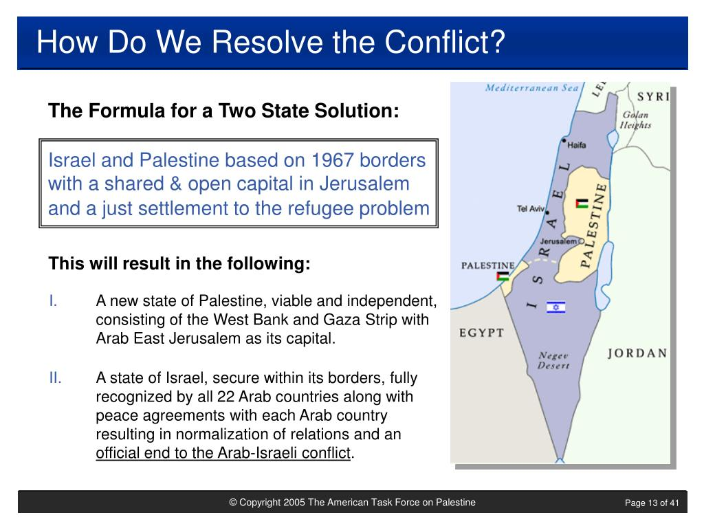 How Do We Resolve the Conflict?
