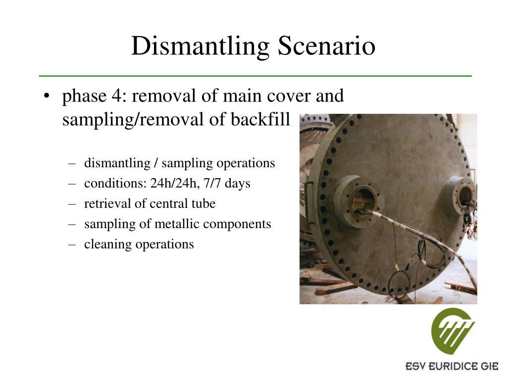 Dismantling Scenario