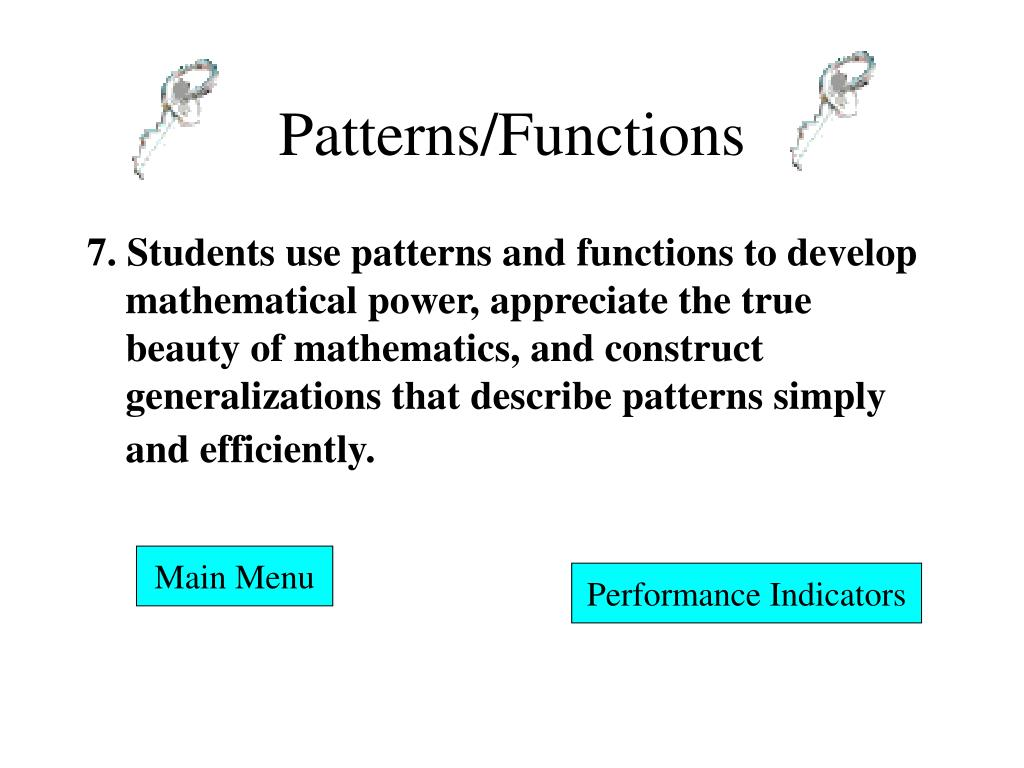 Patterns/Functions