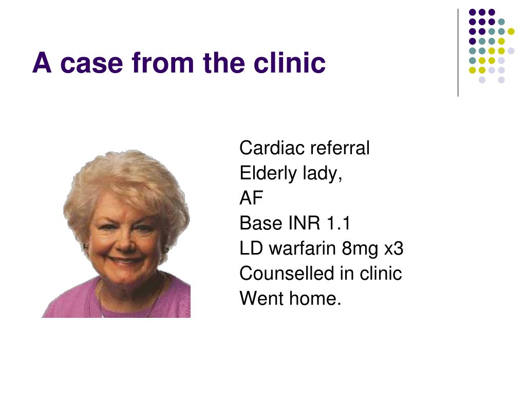 A case from the clinic