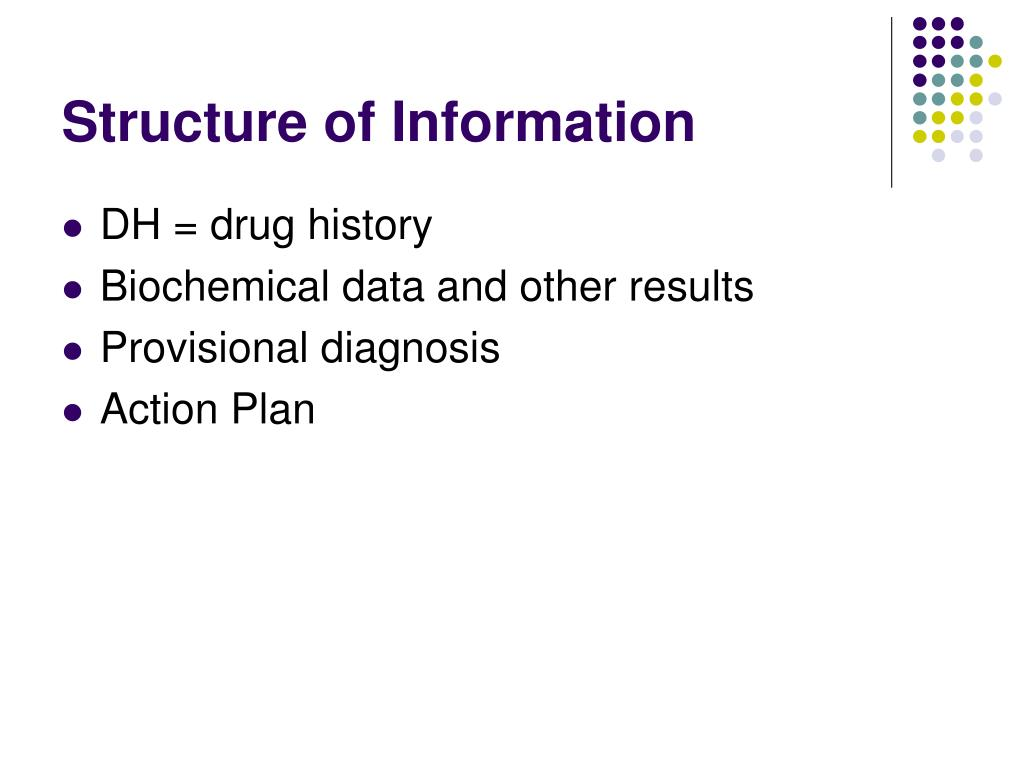 Structure of Information