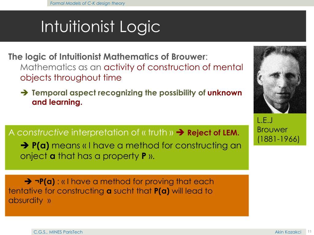 Intuitionist Logic