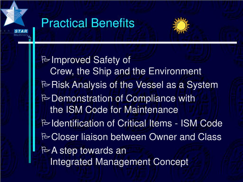 Practical Benefits