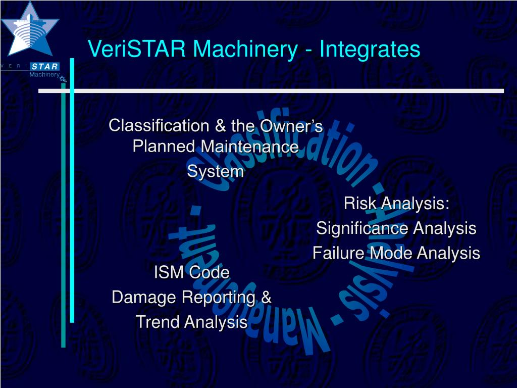 VeriSTAR Machinery - Integrates