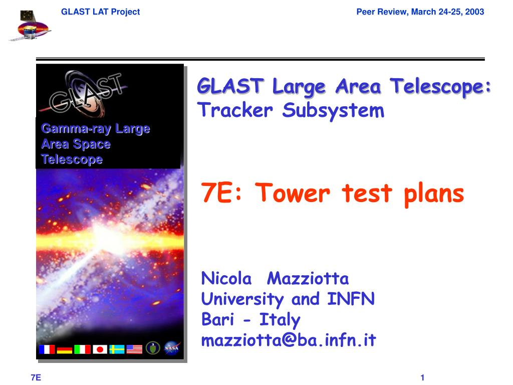 Gamma-ray Large Area Space Telescope