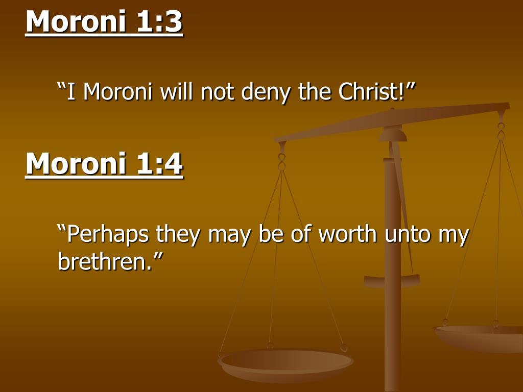 Moroni 1:3