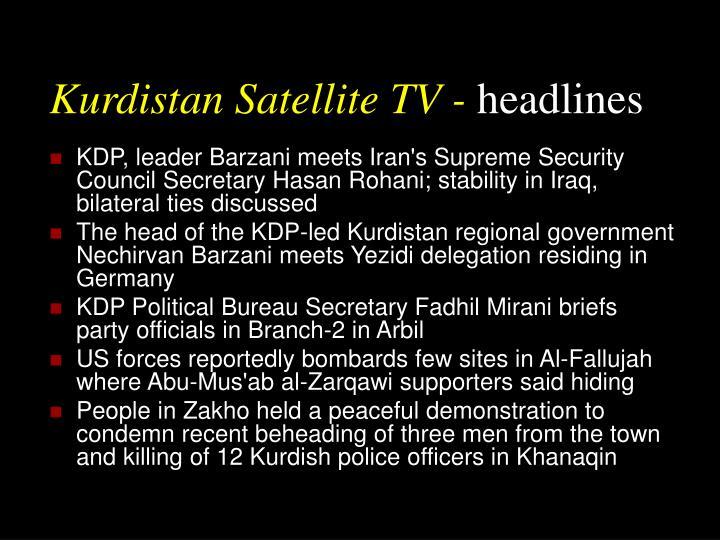 Kurdistan Satellite TV -