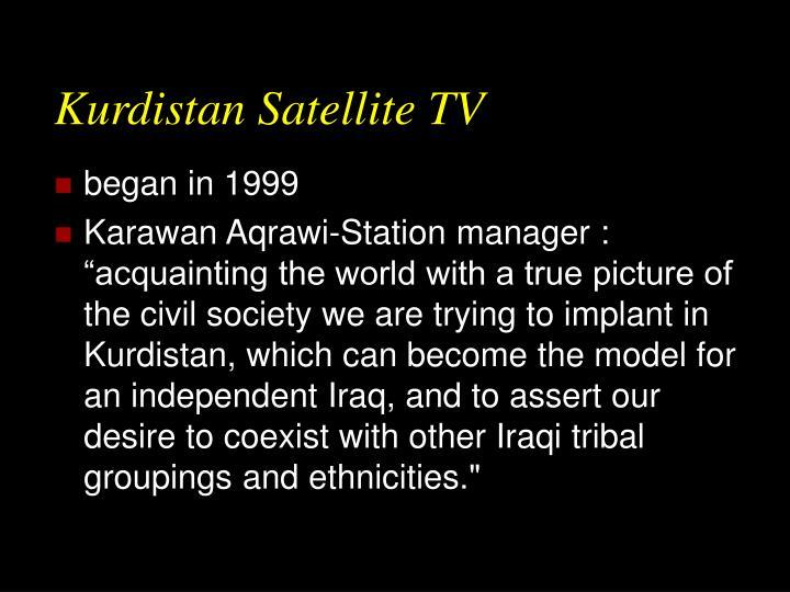 Kurdistan Satellite TV