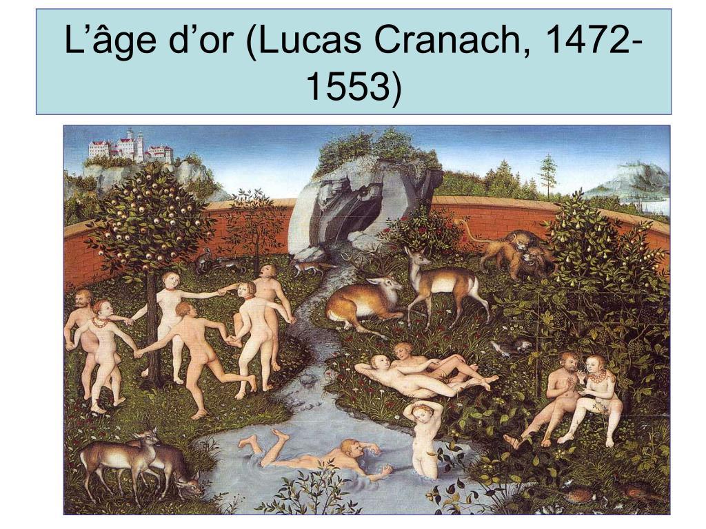 L'âge d'or (Lucas Cranach, 1472-1553)