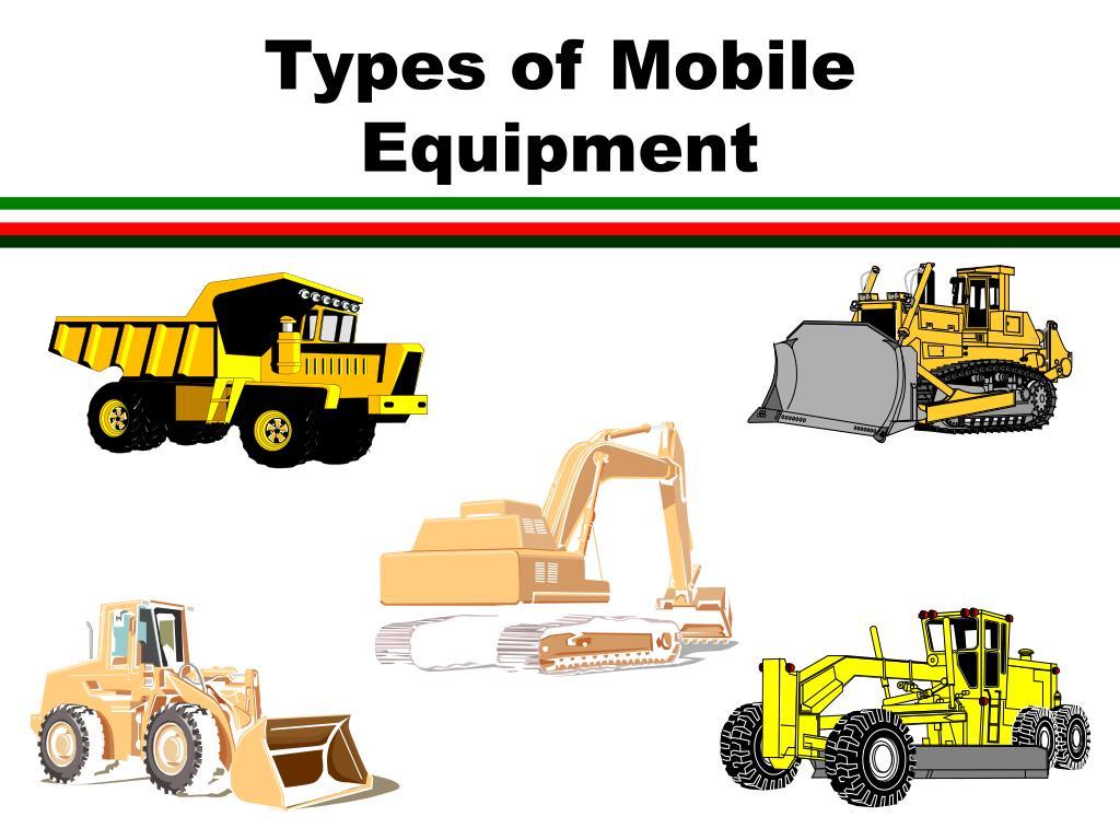 Types Of Excavators : Ppt msha haulage safety powerpoint presentation id