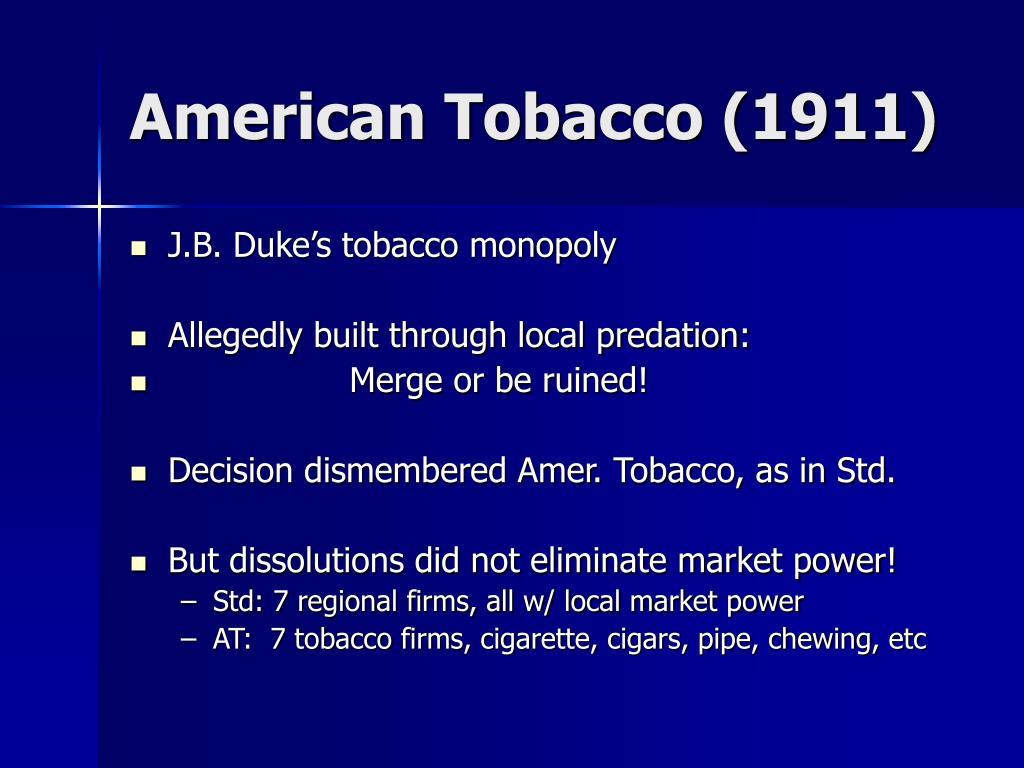 American Tobacco (1911)