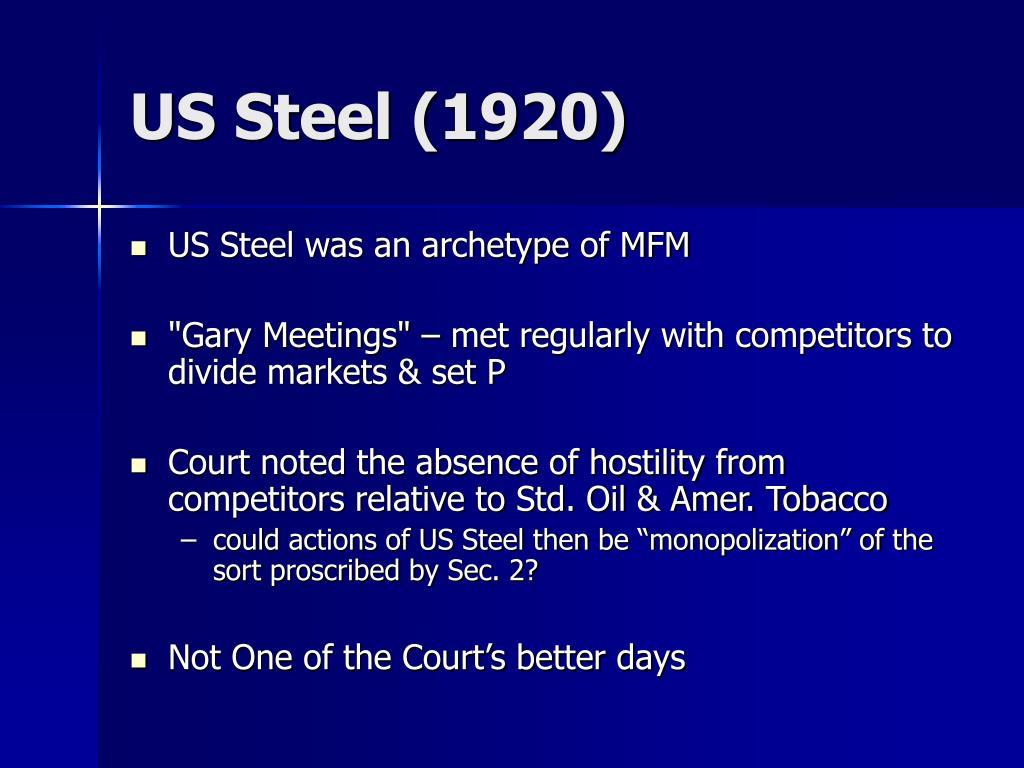 US Steel (1920)