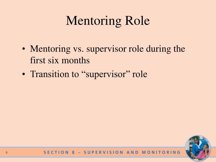 Mentoring Role