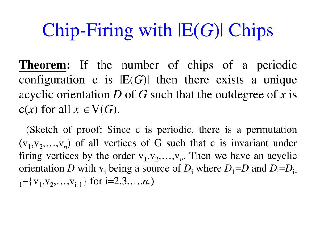 Chip-Firing with |E(