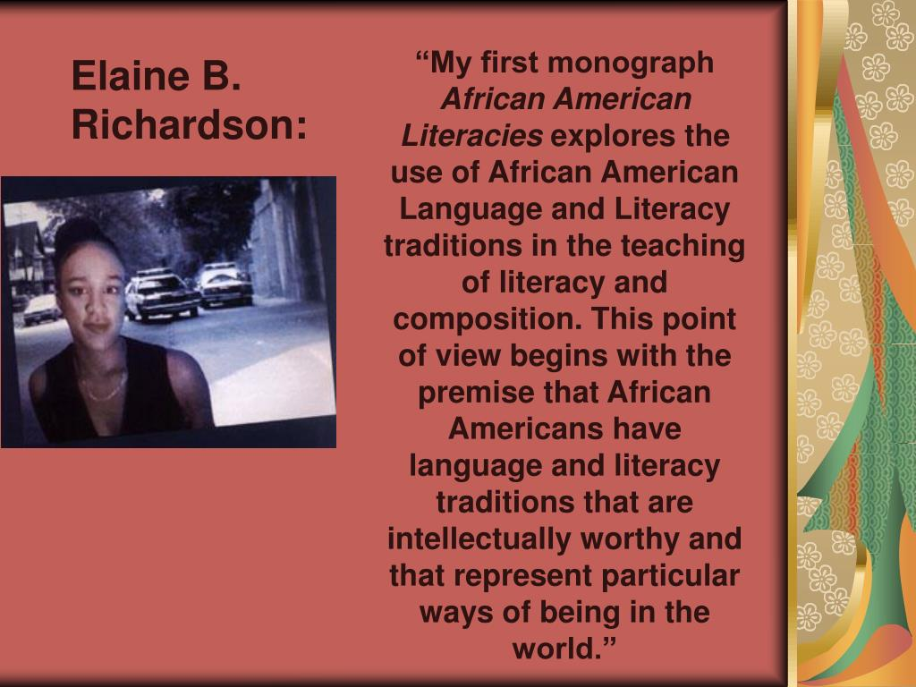 Elaine B. Richardson: