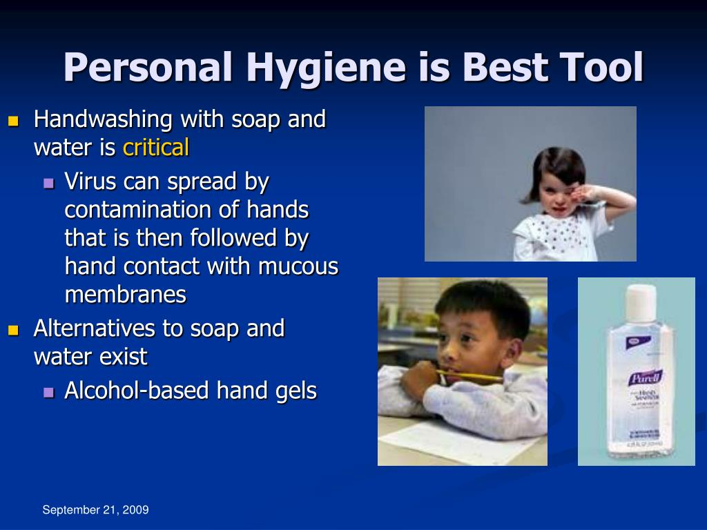Personal Hygiene is Best Tool