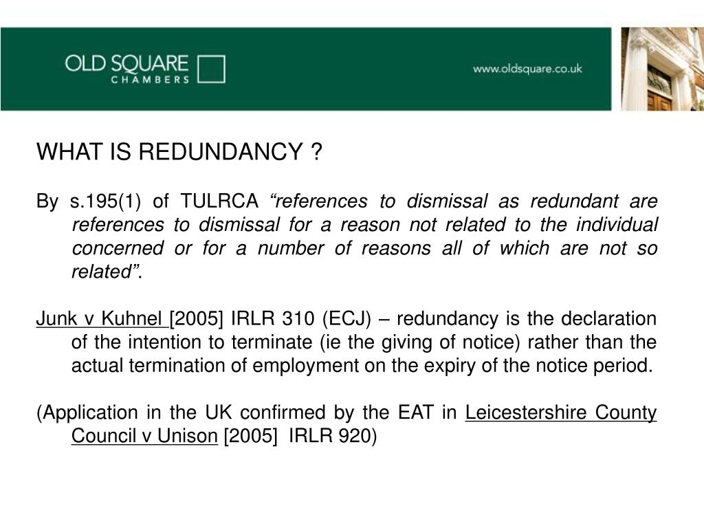 WHAT IS REDUNDANCY ?