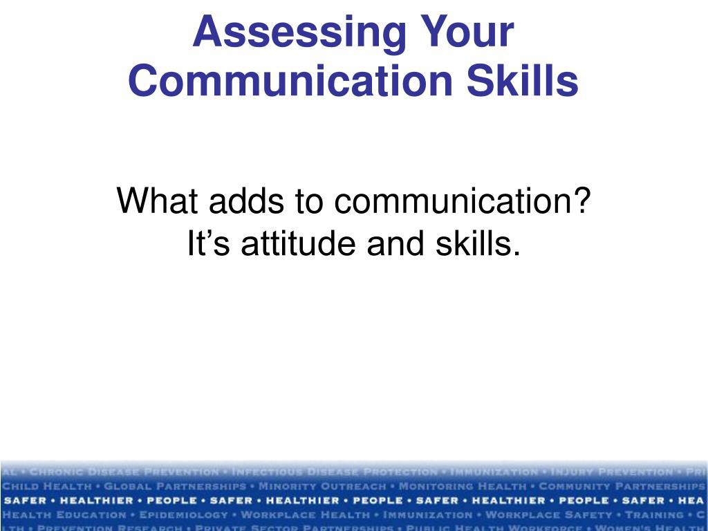 Assessing Your Communication Skills